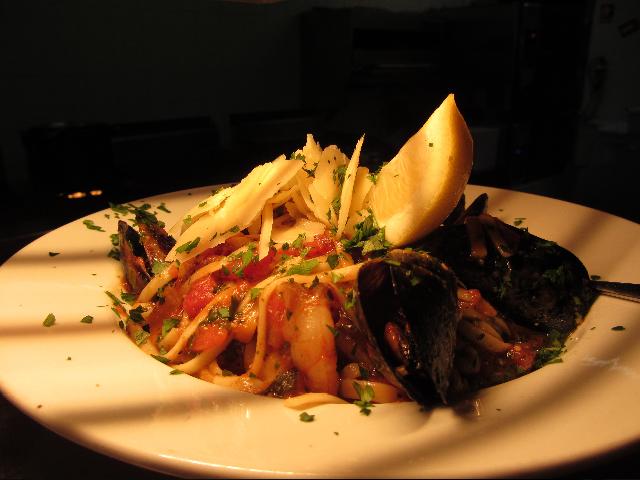 mussel-pasta