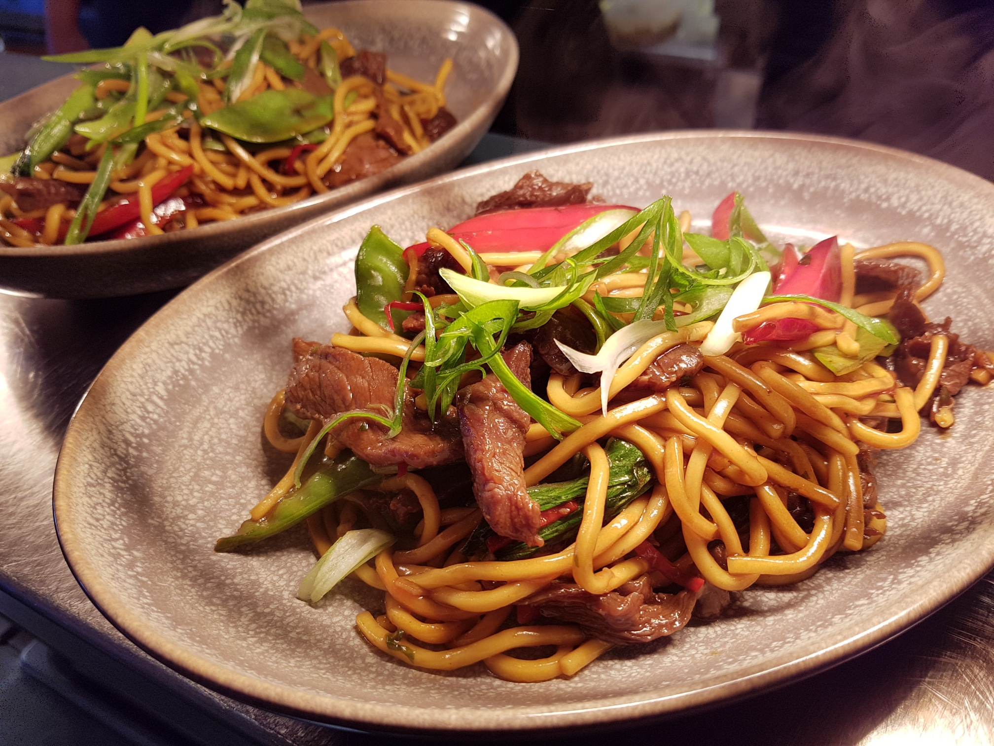 Beef hokkein noodles