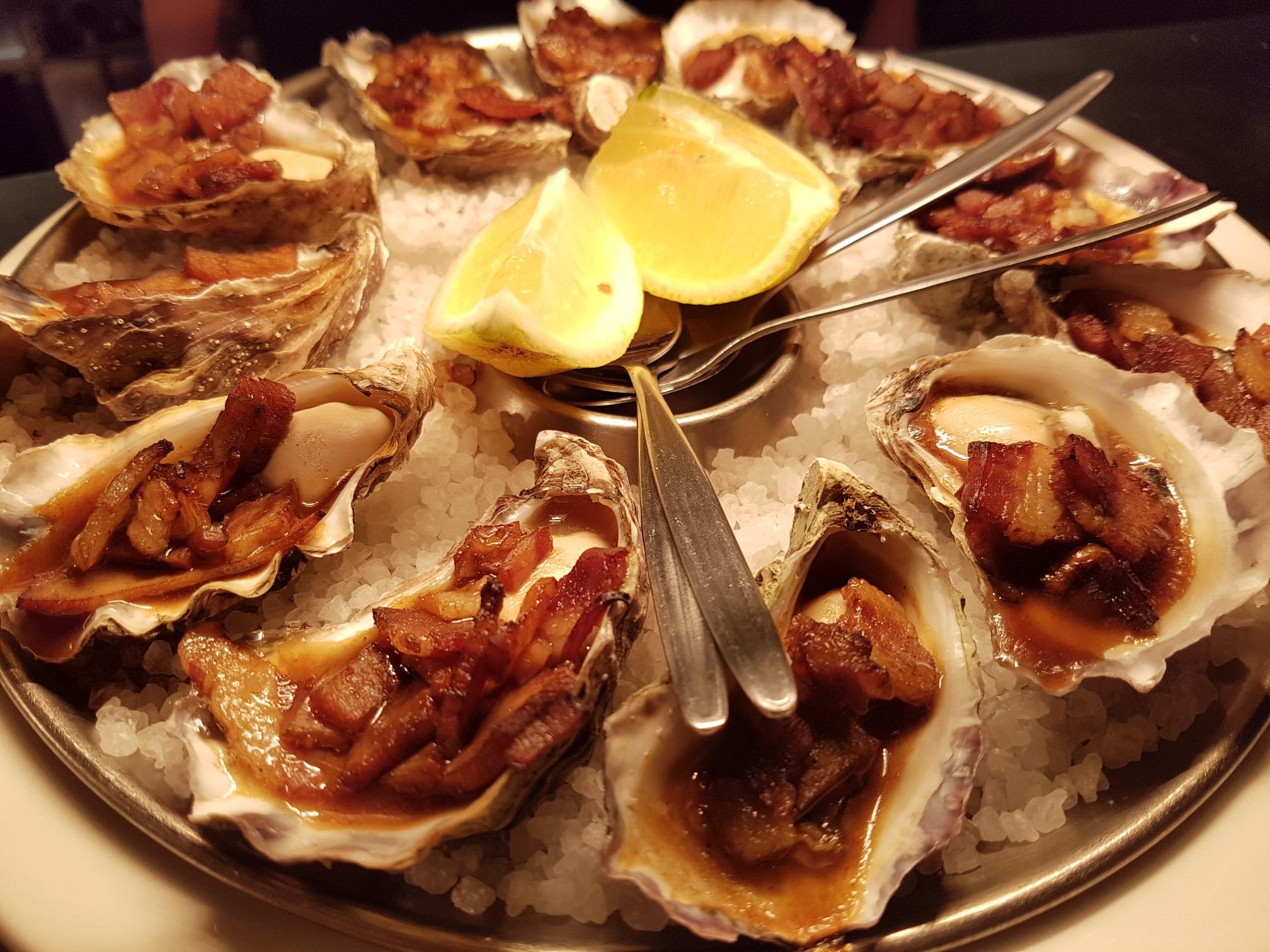 Sydney Rock Oysters Kilpatrick